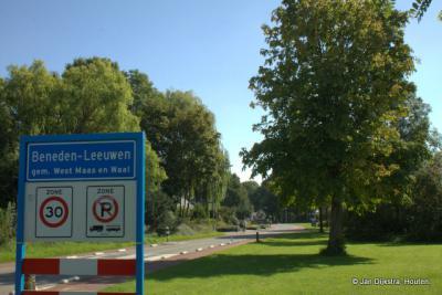 Een groen welkom in Beneden-Leeuwen