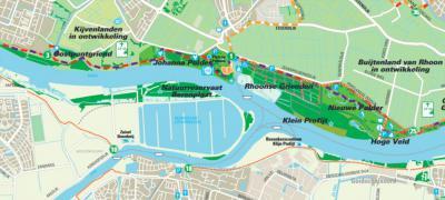 In het sterk verstedelijkte gebied NO van Spijkenisse is gelukkig ook veel 'nieuwe natuur' ontwikkeld en nog in ontwikkeling. Natuurreservaat Berenplaat in het N van het gelijknamige voormalige eiland is er daar één van. (© www.heerlijkbuiten.nl)