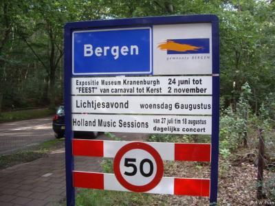 Bergen is een dorp en gemeente in de provincie Noord-Holland, in de streek Kennemerland.