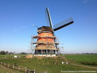 De Berkmeermolen in de buurtschap Berkmeer is in 2015 gerestaureerd en kan er dus weer even tegen. Ook 'buurmolen' de Kaagmolen is in 2015 gerestaureerd.