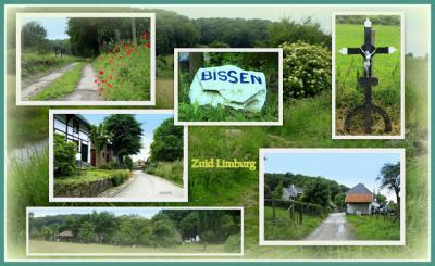 Bissen, collage van buurtschapsgezichten (© Jan Dijkstra, Houten)