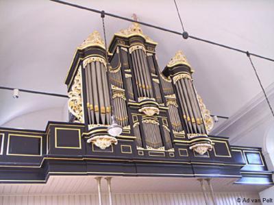 In het kerkje van Blankenham bevindt zich een fraai Bakker & Timmengaorgel uit 1893