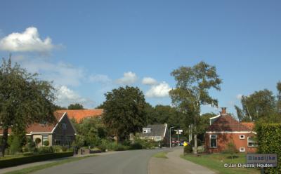 Blesdijke in de gemeente Weststellingwerf in Fryslân.