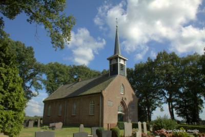 Het kerkje van Blesdijke uit het jaar 1843.