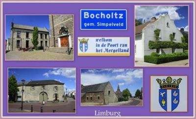 Bocholtz, collage van dorpsgezichten (© Jan Dijkstra, Houten)