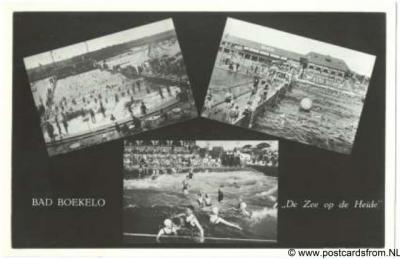 Boekelo, het vroegere Bad Boekelo werd destijds gepromoot als 'de zee op de heide'