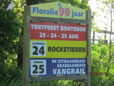 In Bontebok houden ze wel van een feestje. Door het jaar heen is er regelmatig iets te doen, zoals bijv. het jaarlijkse Tentfeest in augustus.