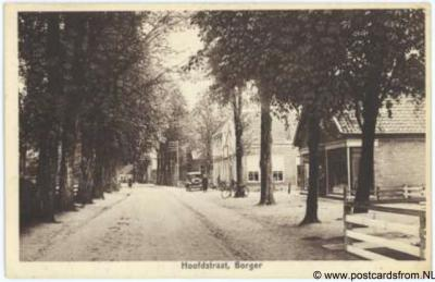 Borger, Hoofdstraat, 1941