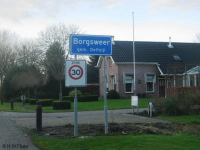 Borgsweer is een dorp in de provincie Groningen, in de streek Oldambt, gemeente Delfzijl. T/m 1989 gemeente Termunten.
