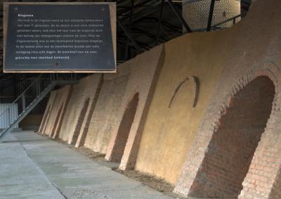 Ringovens van vroegere steenfabrieken zijn niet veel bewaard gebleven in ons land. De ringoven van steenfabriek De Bosscherwaarden in buurtschap De Noord is gerestaureerd en te bezichtigen. (© Jan Dijkstra, Houten)