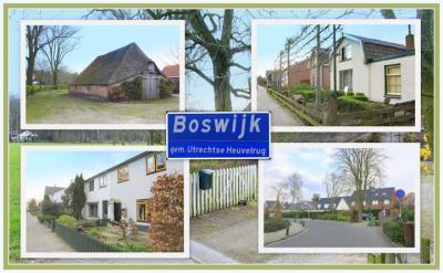 Boswijk, collage van buurtschapsgezichten (© Jan Dijkstra, Houten)
