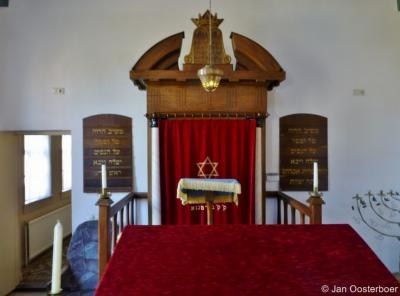 Bourtange, interieur van de synagoge