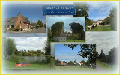 Boven-Leeuwen is een dorp in de provincie Gelderland, in de streek Land van Maas en Waal, gemeente West Maas en Waal. T/m 1817 gemeeente Leeuwen. In 1818 over naar gemeente Wamel, in 1984 over naar gemeente West Maas en Waal. (© Jan Dijkstra, Houten)