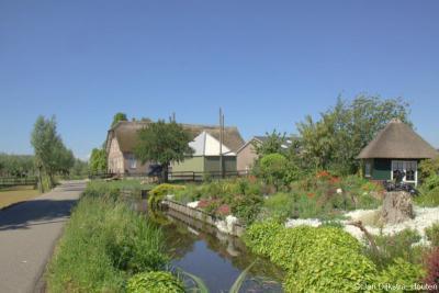 Wat een paradijselijk uitzicht he. Je zult er toch wonen, in buurtschap Bovenkerk bij Stolwijk.
