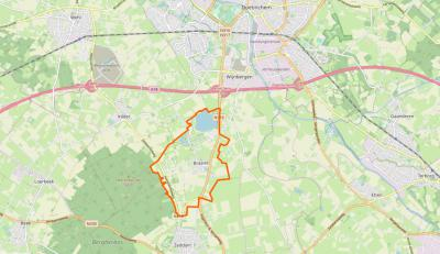 Braamt is een klein maar zeer actief dorp, gelegen tussen de stad Doetinchem en de A18 in het N en het dorp Zeddam in het Z. Het dorp grenst in het ZW aan het heuvelachtige Bergherbos. In het N van het dorpsgebied ligt recreatiegebied Stroombroek.