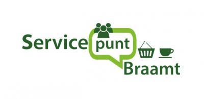 Sinds juni 2018 is er Servicepunt Braamt, een supermarktje in het dorp, dat door ca. 30 vrijwilligers wordt gerund, en vooral ook is bedoeld als ontmoetingspunt waar mensen met elkaar kunnen bijpraten. Het loopt als een tierelier. Kijk maar onder Links.