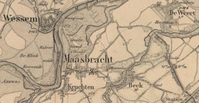 Oorspronkelijk heet Brachterbeek gewoon Beek. Maar er waren nogal wat dorpen in ons land met die naam, wat regelmatig verwarring wekte. Daarom is de naam van dit dorp in de loop van de 19e eeuw gewijzigd in Brachterbeek.