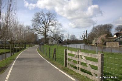 Erg landelijk is het in Breeveld, vooral de uiterwaard van de Oude Rijn is daar erg mooi.