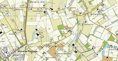 De spelling van het dorp Wouwsche Plantage is in 1969 door de gemeenteraad van Wouw gewijzigd in Wouwse Plantage. De Roosendaalse buurtschap Brembos heeft in atlassen nog de oude spelling, omdat die nooit formeel is gewijzigd (maar in de praktijk wél).