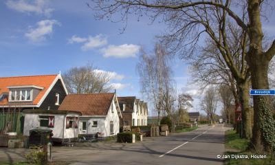 Buurtschap Breudijk is een langgerekte, landelijke buurtschap rond de gelijknamige weg