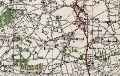 In de jaren 1930 vereenvoudigen veel plaatsnamen van spelling. Stramproy wordt Stamprooi, Breijvensroth wordt Breivensrot én verhuist op de kaarten naar Z van de dorpskern... Nog weer later wordt de naam Breijvin/Breyvin, op een plek nog iets naar het W.