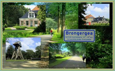 Brongergea, collage van buurtschapsgezichten (© Jan Dijkstra, Houten)