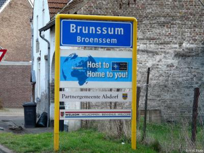 Brunssum is een stad en gemeente in de provincie Limburg, in de regio Parkstad.