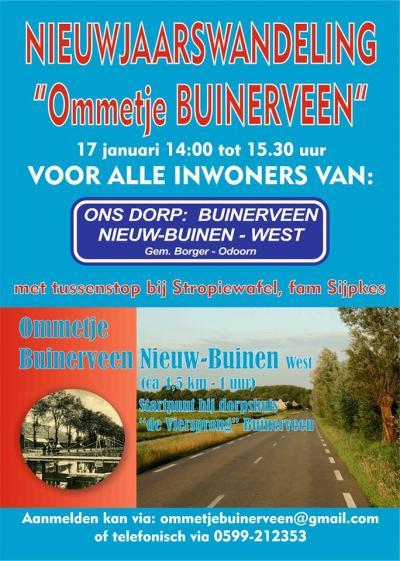 Door gemeente en inwoners wordt Buinerveen samen met het W deel van buurdorp Nieuw-Buinen als een eenheid beschouwd. Dat geheel wordt in de volksmond ook wel Nieuw-Buinerveen genoemd.