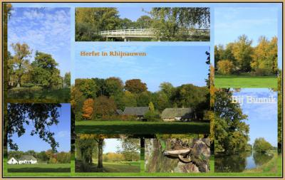 Bunnik, collage landgoed Rhijnauwen (© Jan Dijkstra, Houten)