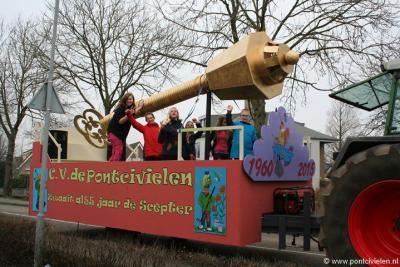 Burgerbrug, Carnavalsvereniging de Pontcivielen heeft in 2015 het 55-jarig bestaan gevierd (in de carnavalswereld rekent men met eenheden van 11 jaar voor jubilea).