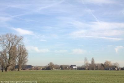 Buurtschap De Kooi gezien vanaf de Nieuweweg (© Jan Dijkstra, Houten)