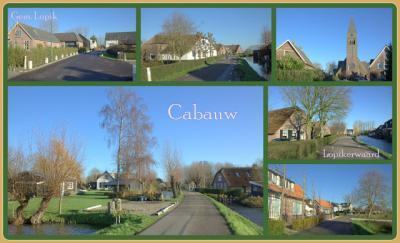 Cabauw is een dorp in de provincie Utrecht, in de streek Lopikerwaard, gemeente Lopik. Het was een zelfstandige gemeente t/m 7-9-1857. Per 8 september 1857 opgegaan in de gemeente Willige Langerak, in 1942 over naar gem. Lopik. (© Jan Dijkstra, Houten)