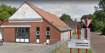 De woonbuurt Ceresdorp, in het dorpsgebied van Musselkanaal, tegenwoordig onderdeel van de woonwijk Cereswijk, is in de jaren vijftig gebouwd als 'fabrieksdorp' voor de werknemers van de nabijgelegen - inmiddels weer verdwenen - Philipsfabrieken. © Google