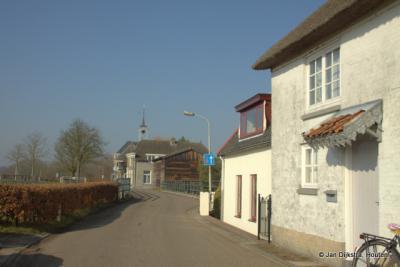 Het dorp Dalem, niet ver van Gorinchem