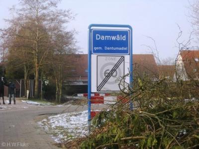 Damwâld (t/m 2008: Damwoude) is een dorp in de provincie Fryslân, gemeente Dantumadiel.