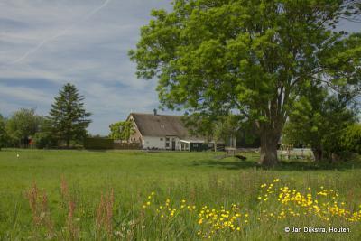 Het is een mooi landschap, met al even mooie boerderijen in buurtschap De Bree