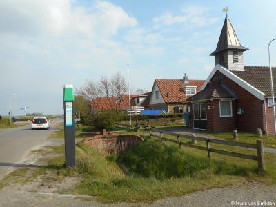 Zuid-Eierland, Muyweg, met het voormalige Bethelkerkje, tegenwoordig in gebruik als buurthuis