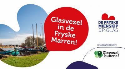 Tot medio 2019 kampten de meeste kernen en het buitengebied van gemeente De Fryske Marren nog met een trage internetverbinding. Maar daar gaat verandering in komen; bijna alle kernen plus het buitengebied gaan aangesloten worden op een glasvezelnetwerk.