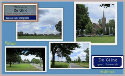 De Glind, collage van dorpsgezichten (© Jan Dijkstra, Houten)