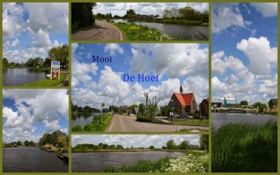 De Hoef, collage dorpsgezichten (© Jan Dijkstra, Houten)