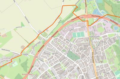 Buurtschap De Kling is tegenwoordig van de stad Brunssum afgesneden door de recent gereedgekomen Ring Parkstad (N300). Ze worden met elkaar verbonden door een bruggetje in de Merkelbeekerstraat in het N en een tunneltje in de Europalaan in het Z.