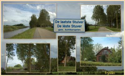 De Laatste Stuiver, collage van buurtschapsgezichten (© Jan Dijkstra, Houten)