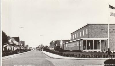 De Lier, ansichtkaart, Hoofdstraat, ca. 1960