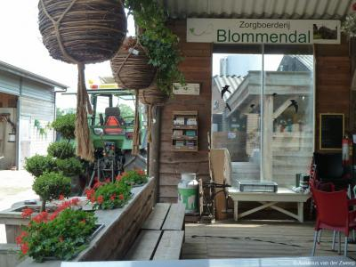 Zorgboerderij Blommendal in buurtschap De Ruif bij Stoutenburg biedt zinvolle dagbesteding voor ouderen en mensen met een beperking.