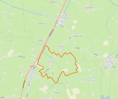 Dedgum is een zeer klein dorp, met slechts ca. 40 huizen en ca. 90 inwoners. Het werkt dan ook op diverse gebieden samen met de buurdorpen Parrega, Hieslum en Tjerkwerd.