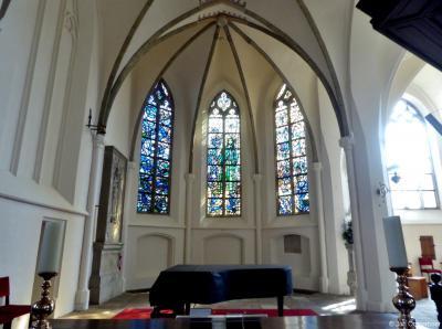 Delden, interieur van de Oude Blasiuskerk