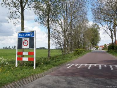 Den Andel is een dorp in de provincie Groningen, in de streek Hoogeland, gemeente Het Hogeland. T/m 1989 gemeente Baflo. In 1990 over naar gemeente Winsum, in 2019 over naar gemeente Het Hogeland.