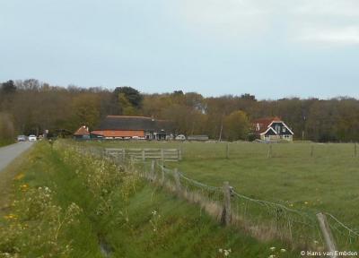 Westermient, huizen aan de Rozendijk, gezien vanaf de Smitsweg