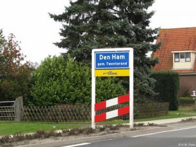 Den Ham is een dorp in de provincie Overijssel, bestuurlijk in de Regio Twente, geografisch en cultuurhistorisch in de streek Salland, gemeente Twenterand. Het was een zelfstandige gemeente t/m 2000.