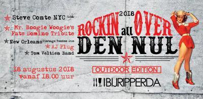 Rockin all over Den Nul (op een zaterdag in augustus) is livemuziek op twee podia met vijf bands, lekker eten en drinken en gezelligheid.